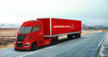 Anheuser-Busch commande des camions Nikola