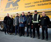 Groupe Robert gagne le 1er prix aux TCA's Fleet Safety Awards 2018