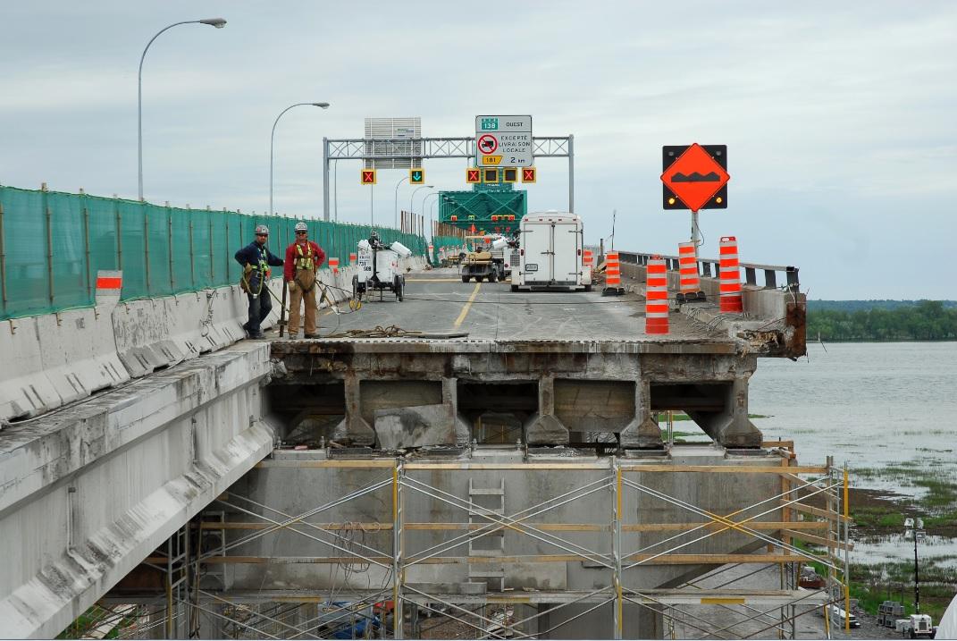 travaux majeurs  u00e0 venir sur le pont laviolette